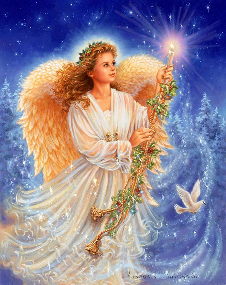 Картинки с изображениями ангелов