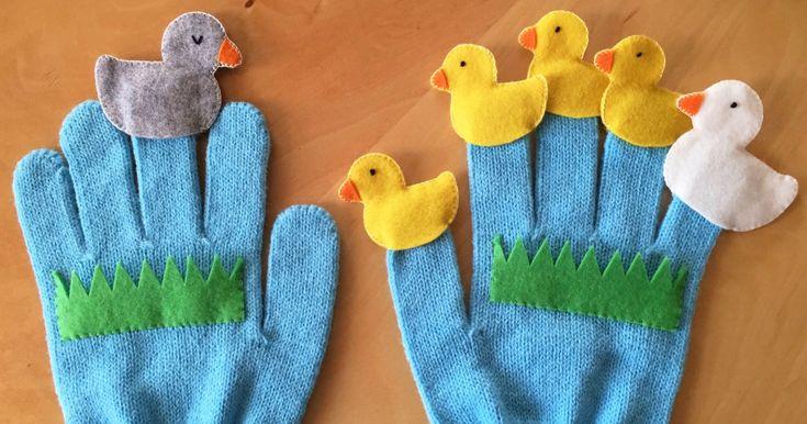 保育園や幼稚園の先生がよく披露してくれる手袋シアター。立体的な分、絵本の読み聞かせより臨場感があり、子どもたちに大人気です。今回はフェルトを使って簡単にできるみにくいアヒルの子の作り方をご紹介します。ママ特製の手袋シアタ…