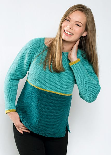 Genser | free pattern | knitted sweater | knitting pattern | knitted top