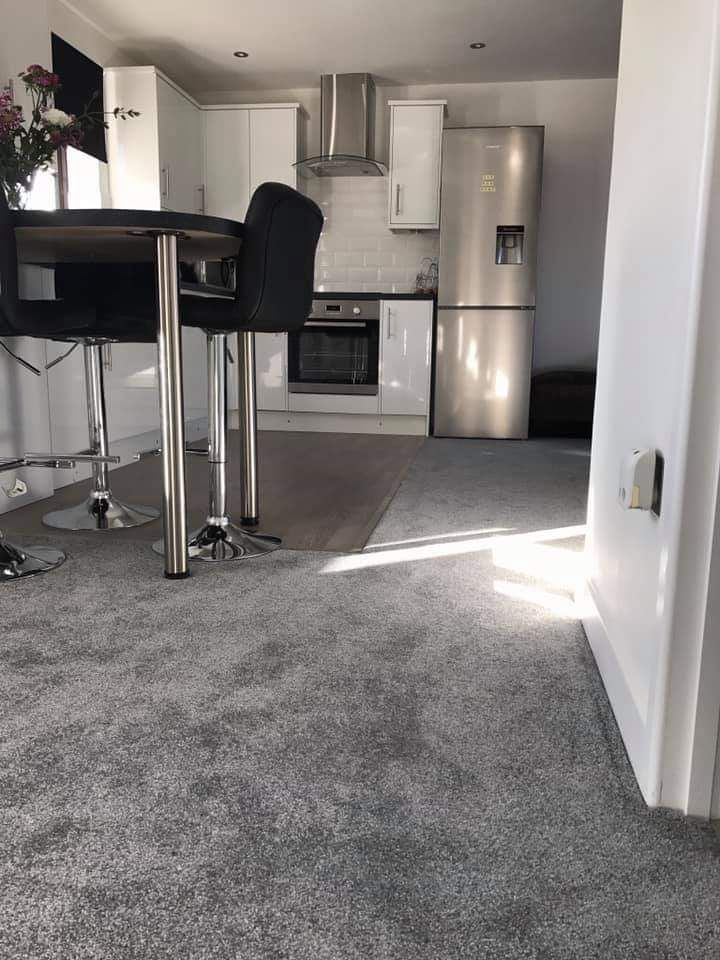 When Combining Multiple Living Areas In One Open Space You Ought To Consider Several Things When It Comes To Choosing The Right Flooring Carpet Tiverton Modern