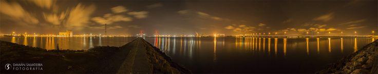 Panorámica Bahía de Cádiz y Puente Carranza by Damián Salvatierra on 500px