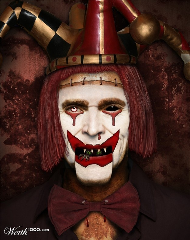 Evil Celebrity Clowns 5 - Worth1000 Contests