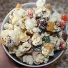 Movie Theater Floor - popcorn, chips, candy, chocolate, etc. What a great idea!