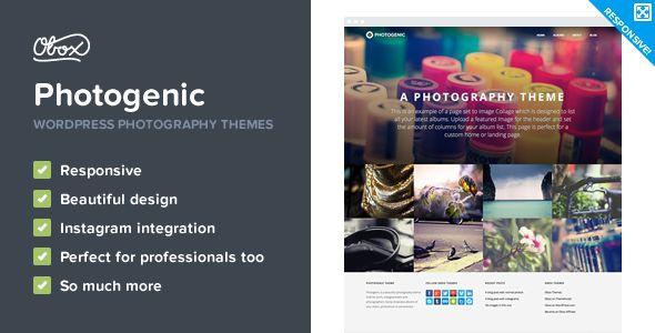 Themeforest – WordPress: Photogenic – WordPress Photography Theme on Themeforest Free Download http://themeforestfreedownload.com