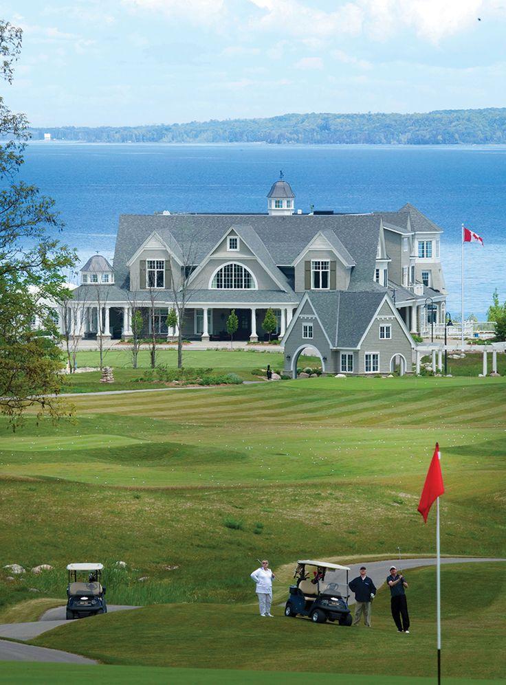 Cobble Beach Clubhouse - Georgian Bay Golf Resort