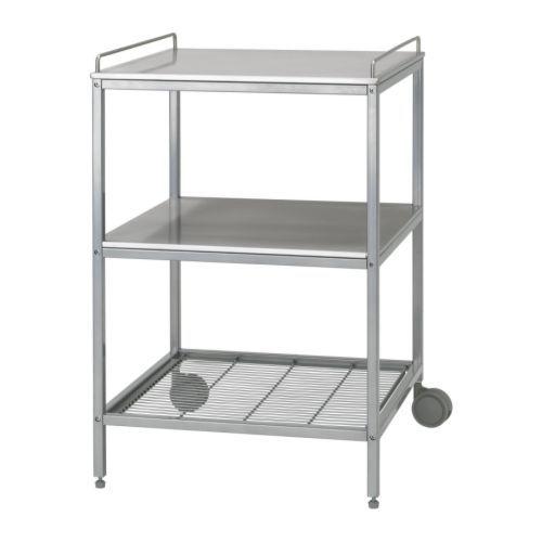 IKEA - UDDEN, Servierwagen, Zusätzliche Aufbewahrung, Abstell- und…