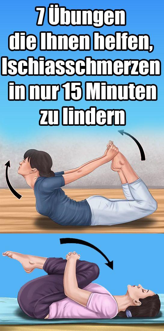 7 Übungen die Ihnen helfen, Ischiasschmerzen in nur 15 Minuten zu lindern – Ilma Katharina