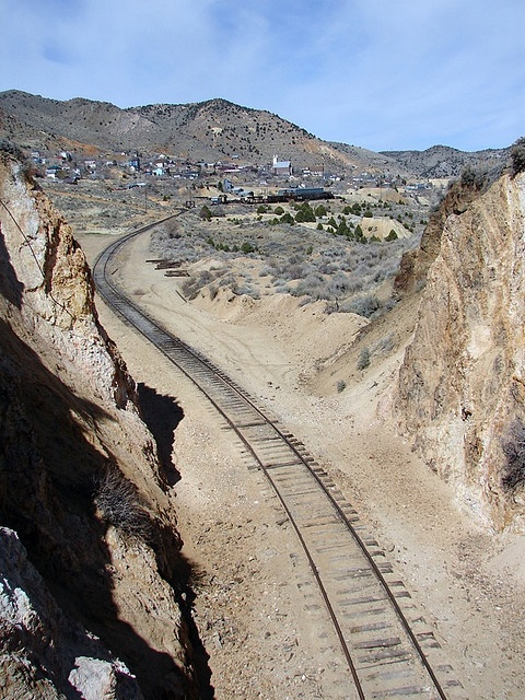 The Devil's Gate between Gold Hill and Virginia City, NV.