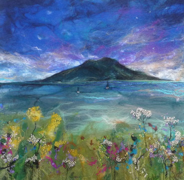 IMAGERY IN FELT with Moy Mackay