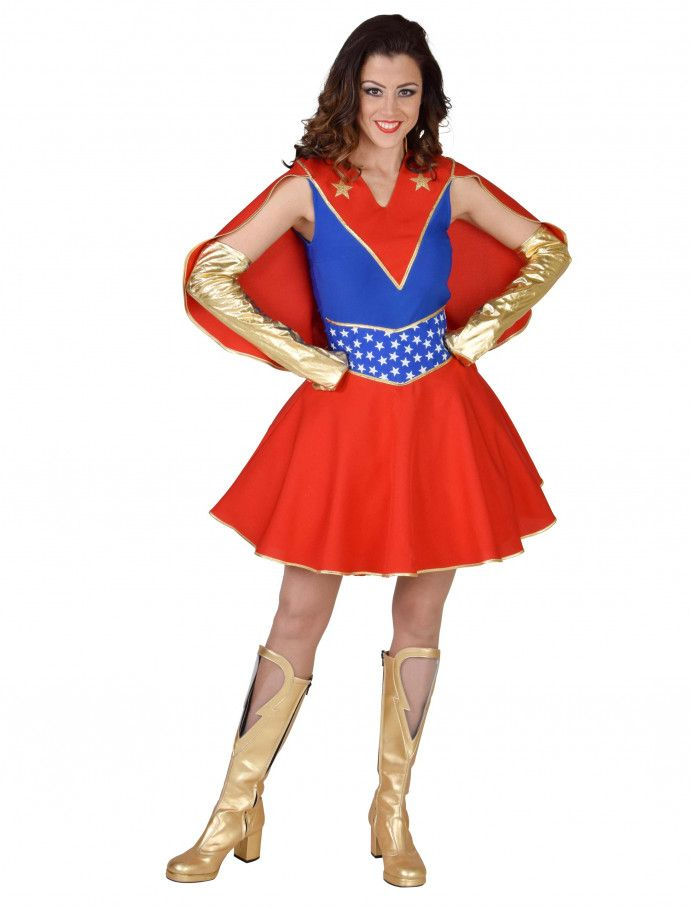 Kleid Heldin Deluxe Damen Hier Kaufen Deiters Kleid Superheldin