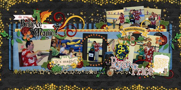 A Wizard's World the Collection Bundle by LDrag Designs, Meagan's Creations and Wimpychomper Creations    Daily Double Templates by Inspired By You Designs