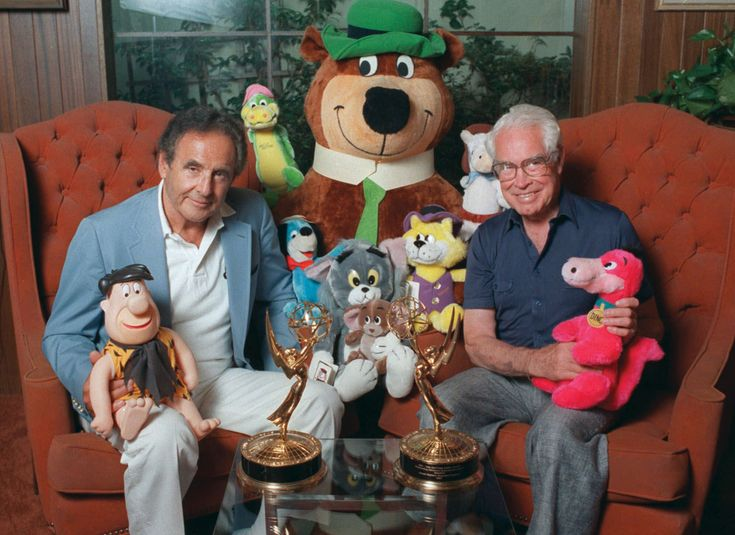 Joseph Barbera and William Hanna -- the producers of many cartoon shows. Known for characters such as The Flintstones, Yogi Bear, Tom & Jerry, Top Cat, Huckleberry Hound, and many more.