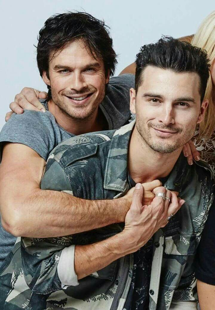 Damon & Enzo|| Ian Somerhalder & Michael Malarkey (With ...