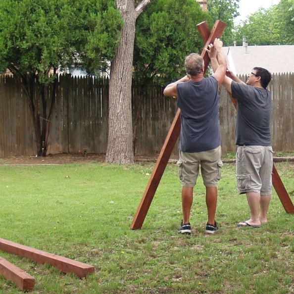 86 best images about kid 39 s backyard plans swings for Diy adult swing set