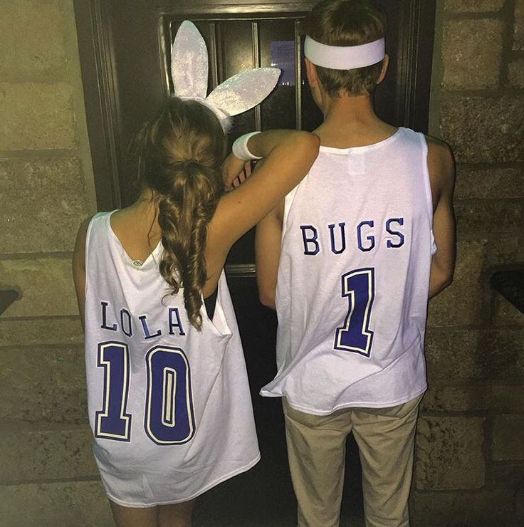 Fraternity or Sorority couples costume!!!! Space Jams Lola and Bugs Bunny!!!