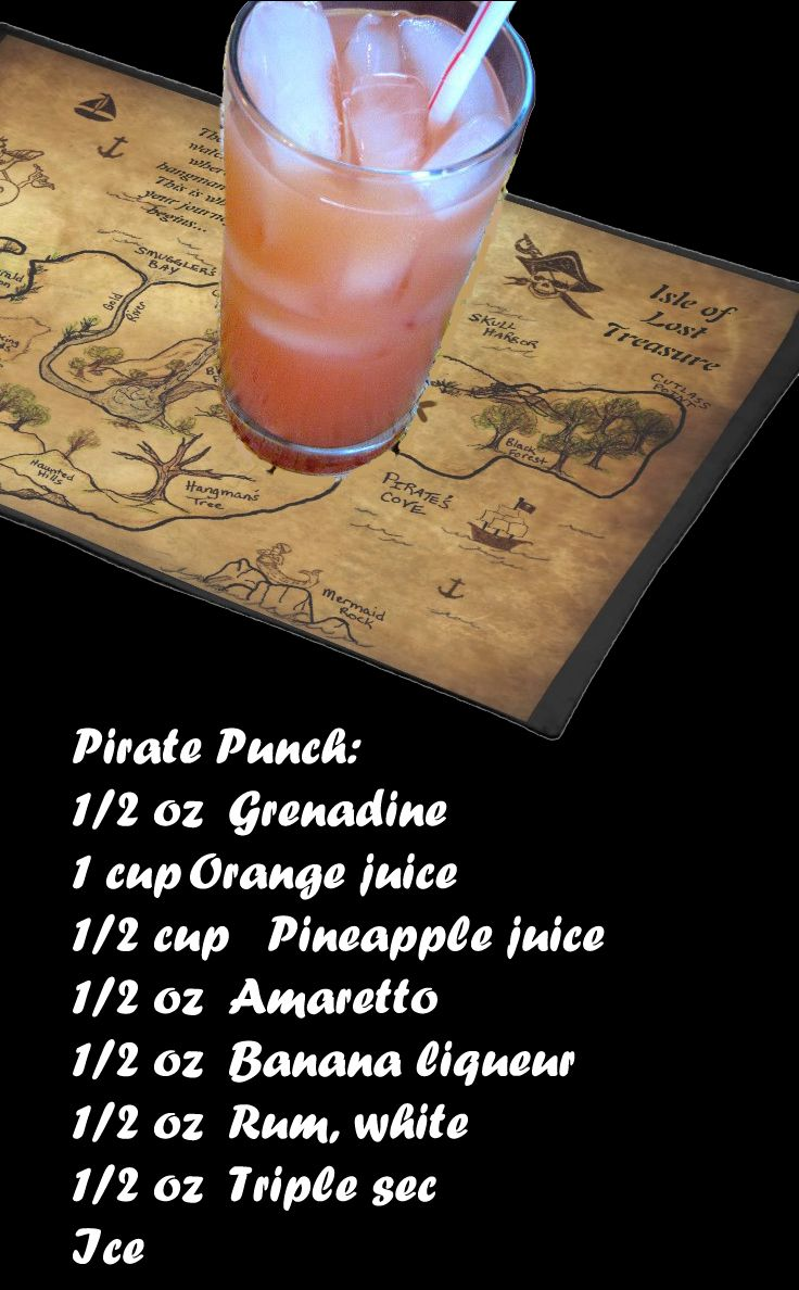 RECIPE: Pirate Punch.