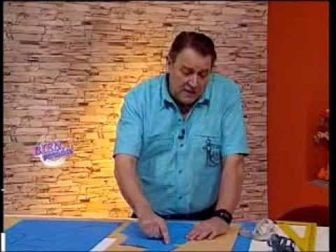 Explica CUELLO SOLAPA   Hermenegildo Zampar - Bienvenidas TV - Explica Cuello Solapa.