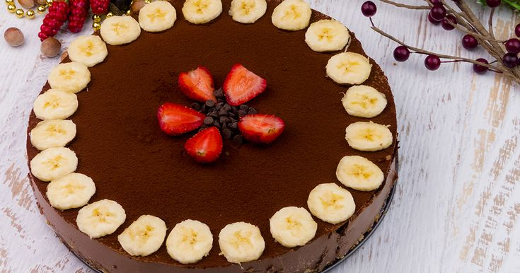 """""""Cheesecake-ul cu ciocolată"""" este cea mai fină prăjitură cu o umplutură extrem de gustoasă din lactate și ciocolată. Are un gust proaspăt, delicat și o aromă încântătoare. Acest desert aspectuos și sănătos va fi o"""