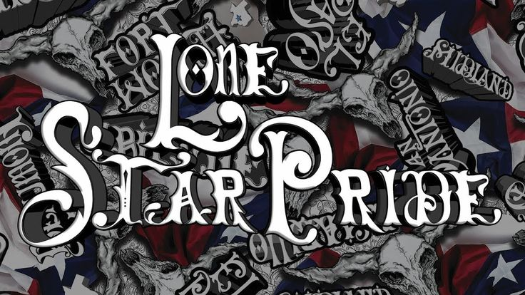 Texas Hydrographic Film - Lone Star Pride by TWN Industries
