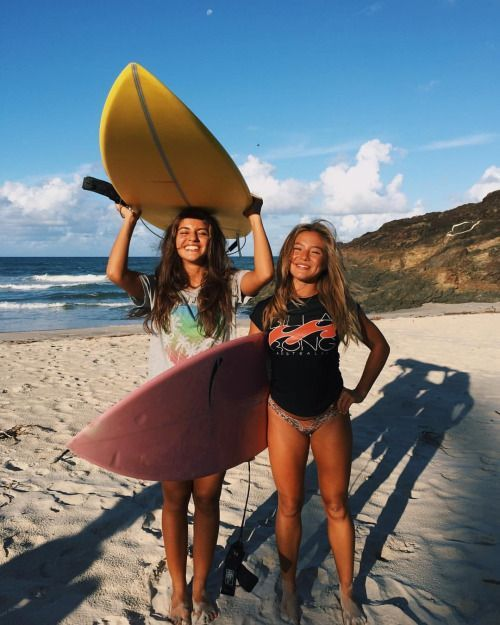 Your summer skincare shouldn't be the same as your cold-weather skincare. In cold weather, I'm all about serums, acids, a… | Surfer girl, Friend photoshoot, Surfing
