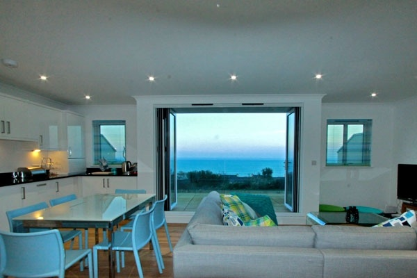 Halcyon Cove at St Uny Apartments, Carbis Bay, Cornwall.  Imagine waking up to that view!  #selfcatering #St Ives