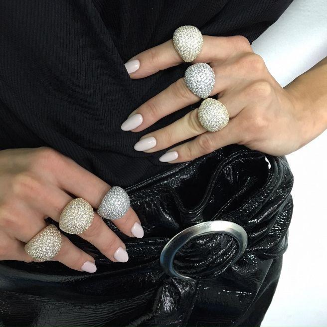 "Ring ""Bling"" Gold - Selfie Jewellery - Shop online"