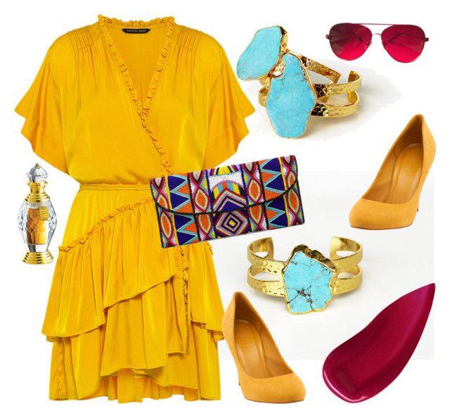 Sharina by glirendree on Polyvore featuring moda, Marissa Webb, Gucci, ASPIGA, Valentino and Lipstick Queen