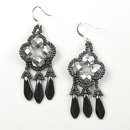 Speedy Glam Earrings 1 with Margie Deeb #craftartedu