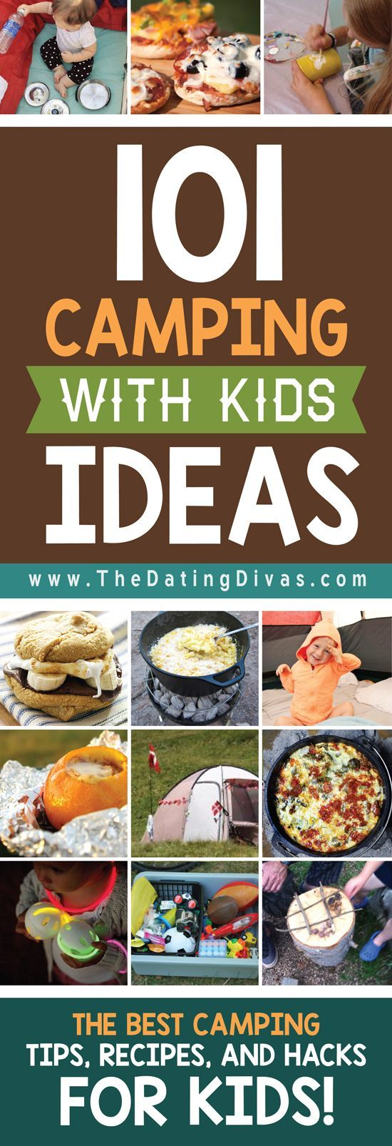 I can't wait to go camping with my family! We're going to eat like KINGS! http://www.TheDatingDivas.com