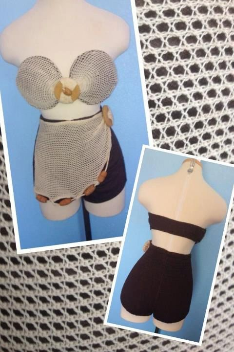 Vintage 1940s 1950s 2 piece bikini fishing net pin up bombshell rockabilly XS/S on Etsy, $300.00
