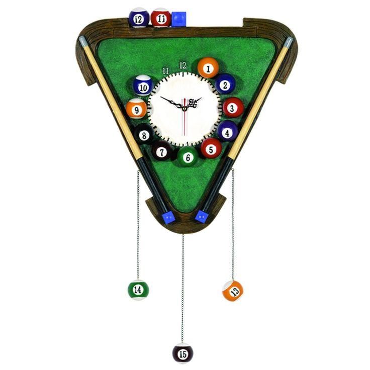 RAM Billiards Game Room Clocks R445