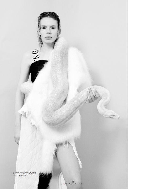 Julia Zimmer by Nicole Maria Winkler - photography Georgia Pendlebury - fashion, Swann Amdéo - assistant - APRIL 2014