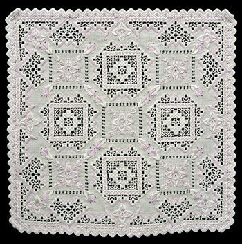 See the pretty Hardanger Doily - Aurora at Nordic Needle