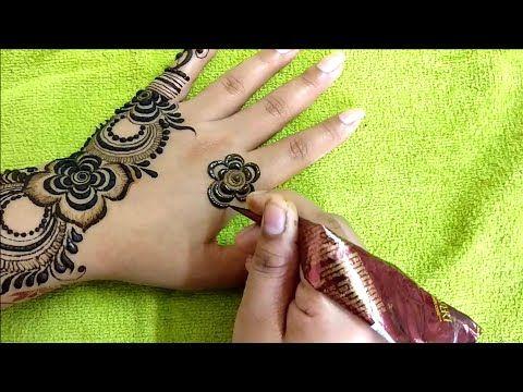 Latest Beautiful Diwali Special Mehndi Design For Hand 2018 Arham Mehndi Designs Youtube Mehndi Designs Desain Henna Mehndi