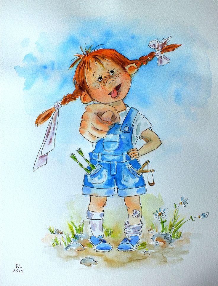 Картинка девочка сорванец