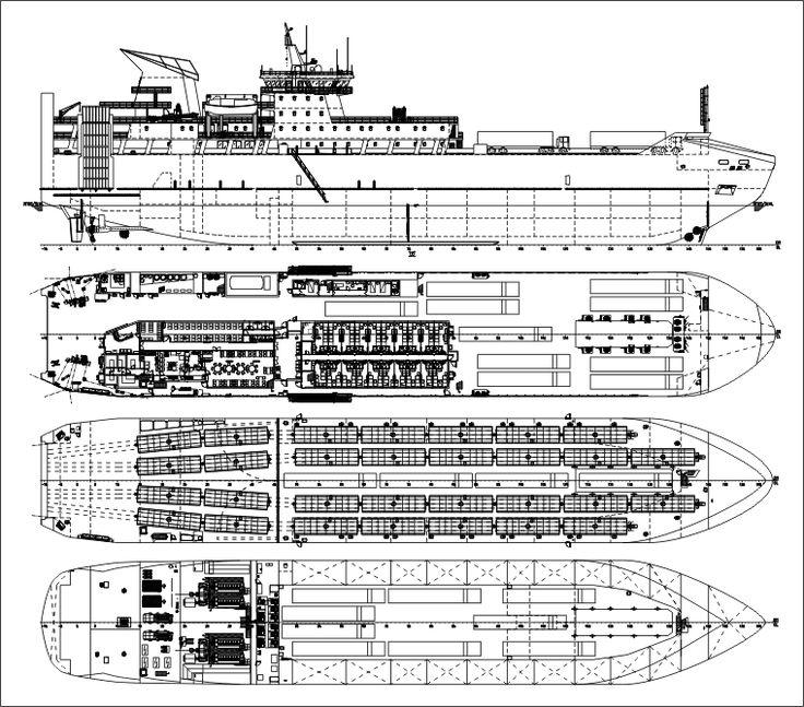 Корабли  вездеходы: АСЗ построит уникальные грузовые паромы для Сахалина