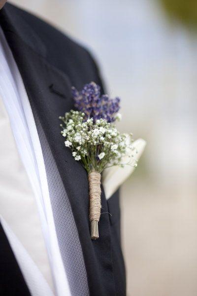 lavender boutonniere-#14