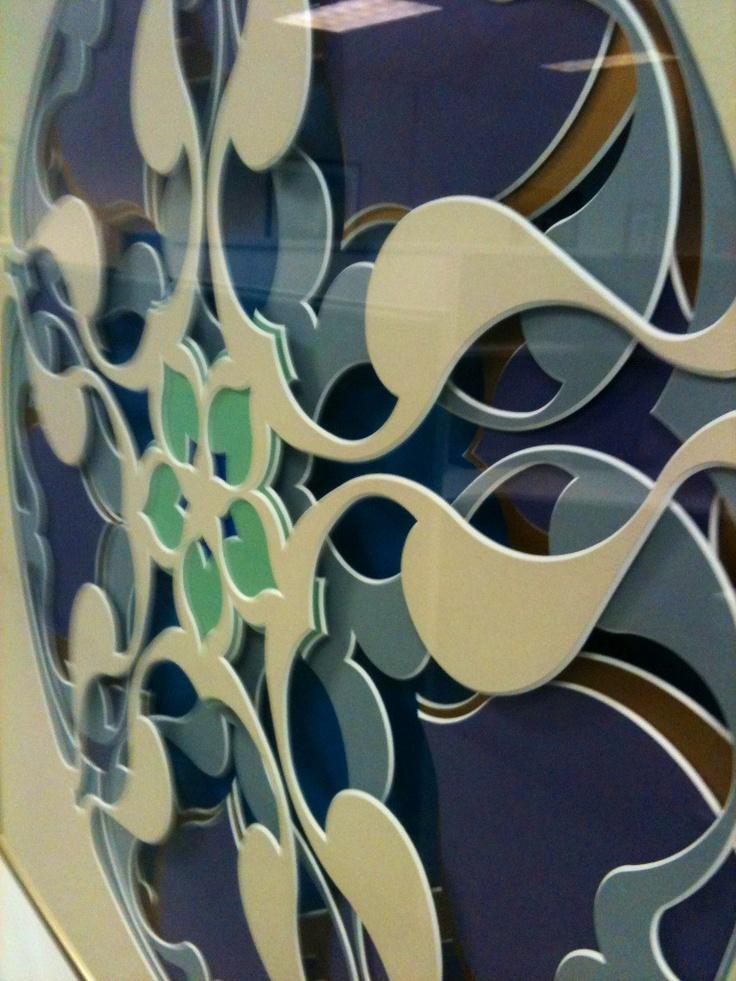Mat Art - Intricate, Organic, and Mesmerizing By Brian Wolf using a Wizard CMC & MatDesigner Software