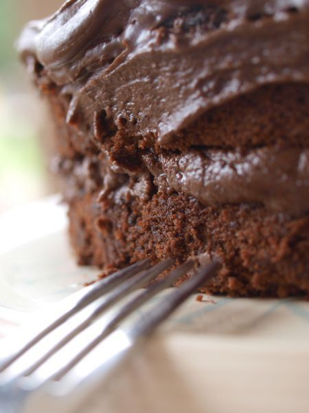 Jarná čokoládová torta