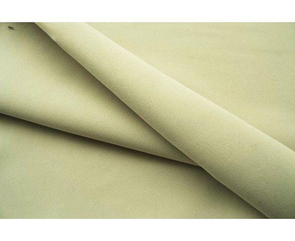 Tissu occultant beige au mètre