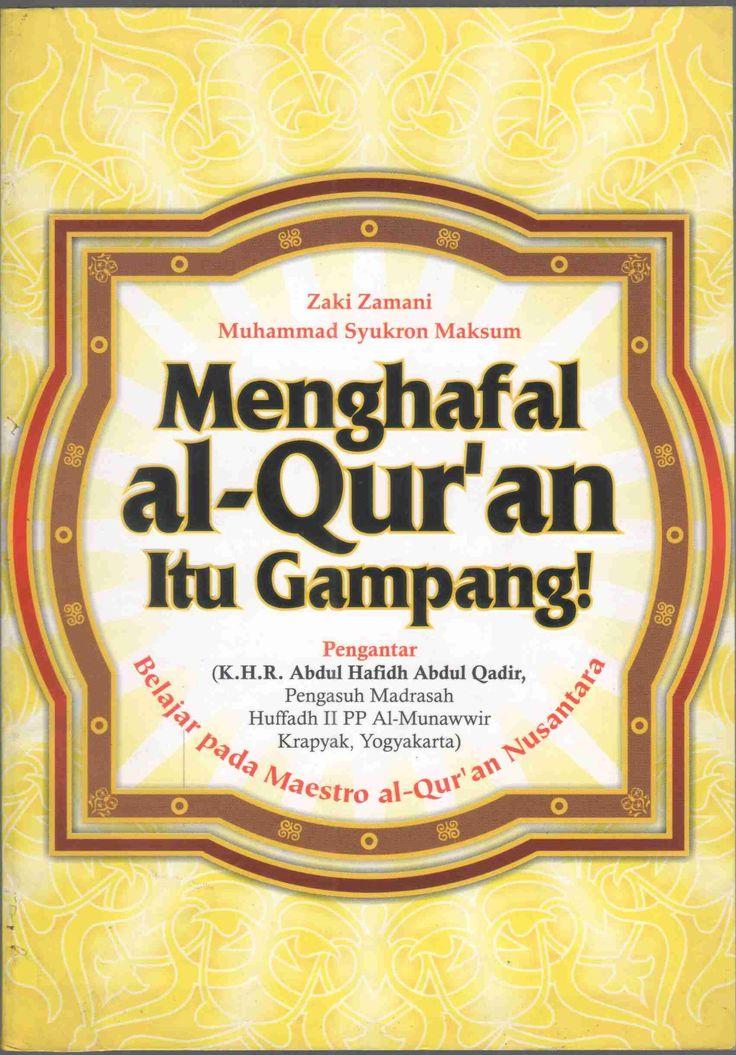 Al - Quran memorizing it easy