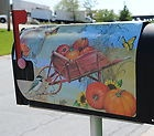 Magnetic Mailbox Cover - Autumn Harvest