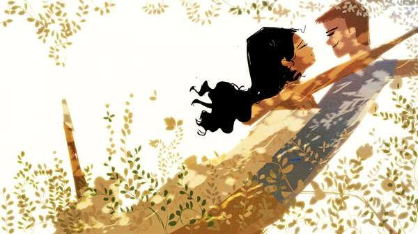 Cutesy Couple Cartoons - Pascal Campion Illustrates Lovable & Romantic Relationship Renderings (GALLERY)