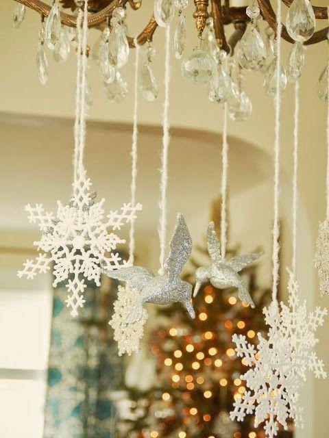 Stijlvol Styling: De mooiste kersttafels, centerpieces en tafeldecoraties www.stijlvolstyling.blogspot.nl