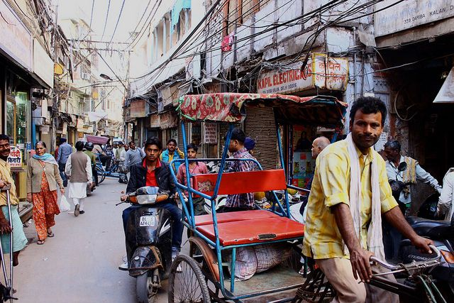 India: Old Delhi in adjectives