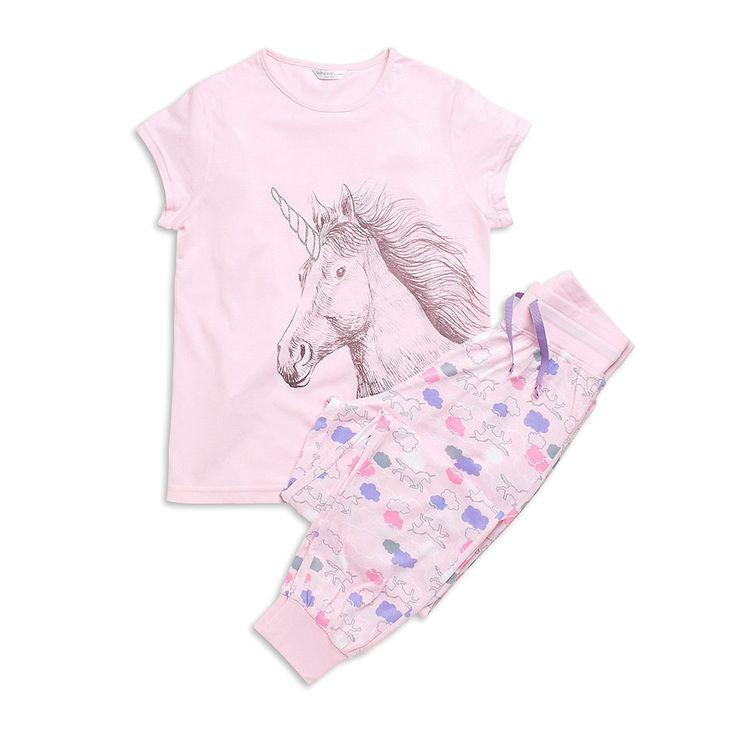 Pyjamas, Rosa, Unicorn, Underkläder & natt, Barn | Lindex