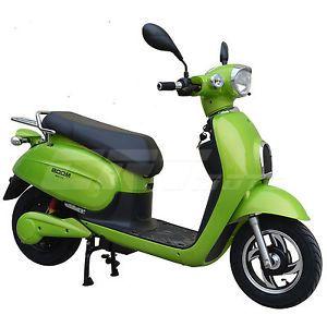 Boom 800W 48V Electric Moped Scooter 577Z Brushless Motor Green | eBay