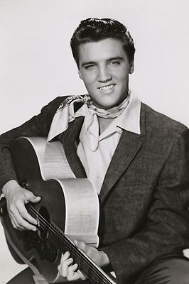 ELVIS WITH GUITAR king creole movie still poster TOP COLLECTIBLE hot 24X36 #ElvisPresley