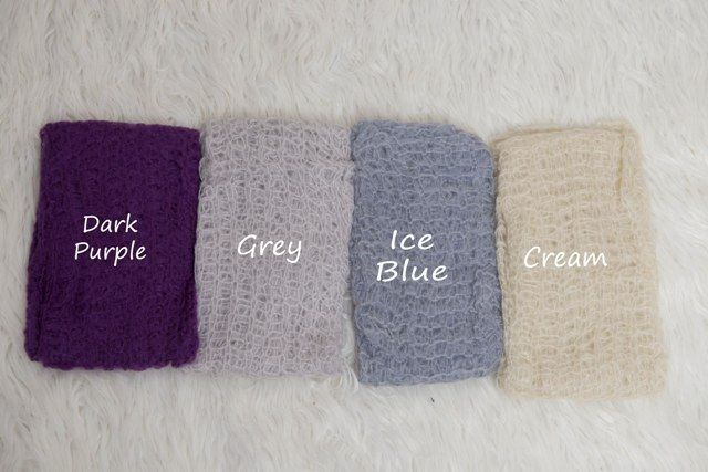 Mohair Wraps and Bonnet beautifully soft.  www.becspropshop.bigcartel.com