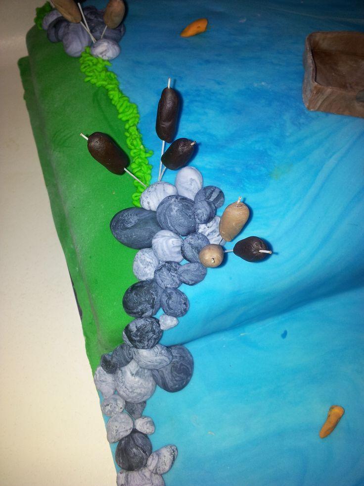 Fishing Cake detail